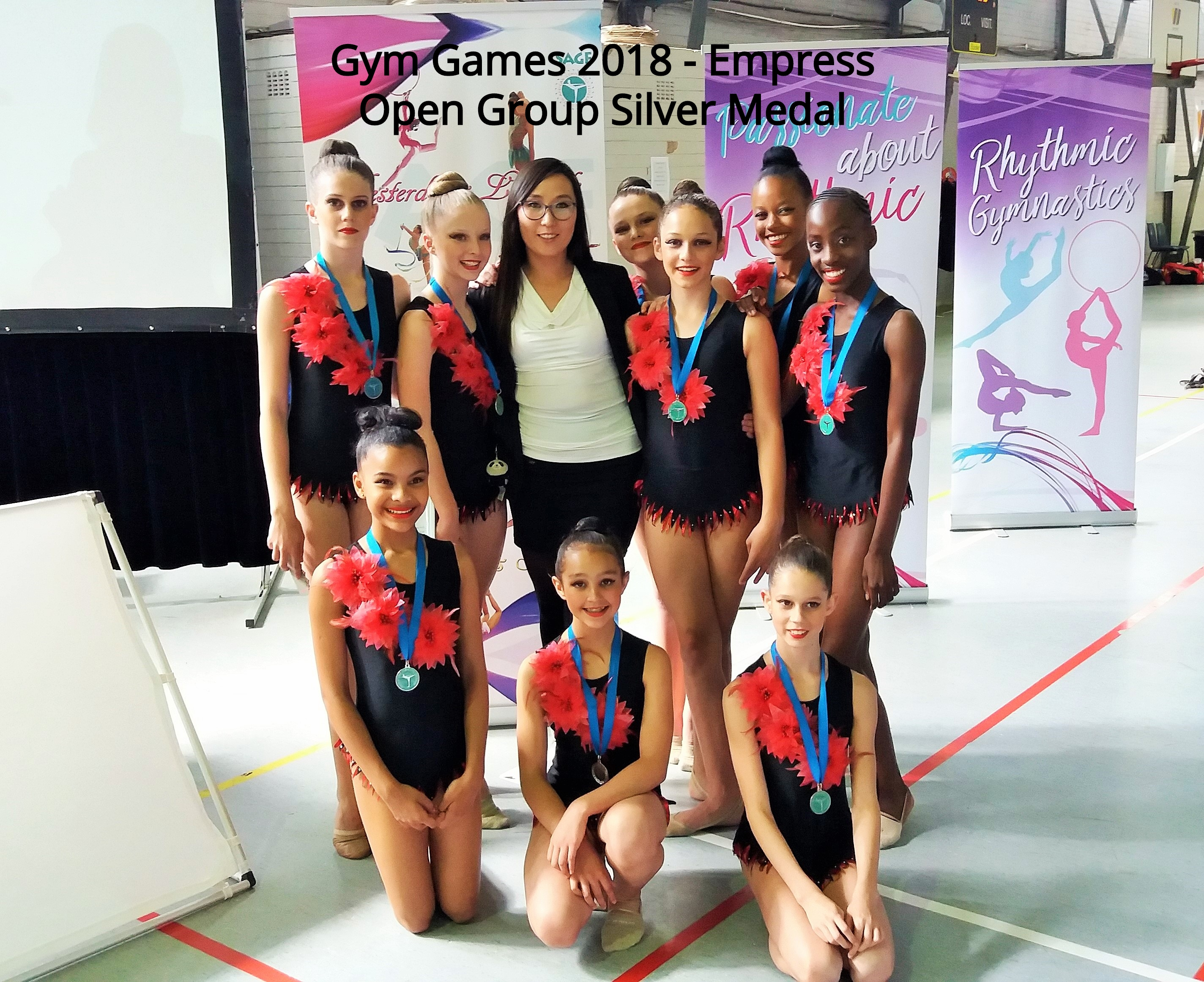 Gym Games 2018 - Silver Medal Empress Open Group